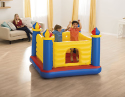 Inflatable Colorful Jump O Lene Kids Ball Pit Castle Bouncer for Ages 3 $46.90