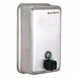 SUNERA 304 Stainless Steel Commercial Liquid Soap Dispenser Wall Mount Home... $46.88
