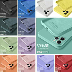 Shockproof Soft Case Liquid Silicone Cover For iPhone11 12 Pro Max XR XS 6S 7 8 $6.35