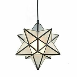 YOBO Lighting Star 1 Light Frosted Glass Pendant Kitchen Assorted Colors $122.02