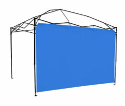 Sun Wall for 10#x27; x 10#x27; Straight Leg Canopy Accessory Only Blue $18.96
