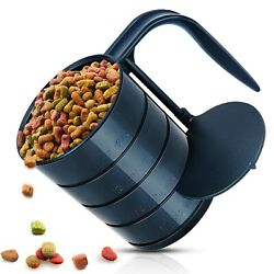Dog Food Scoop Pet Food Scoops for Dogs 4 Capacity Cups in 1 Cup Measuring Sc... $27.56