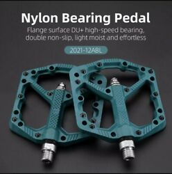 Blue ROCKBROS Bicycle Pedals Non slip Mtb Bmx Cycling Pedals $18.00