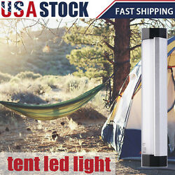 5 Mode LED Magnetic Camping Hiking Light Tent Lamp Portable Lantern Rechargeable $8.98