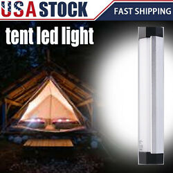 LED Magnetic Emergency Flashlight Home Tent Camping Night Light USB Rechargeable $8.98