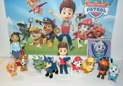 Nickelodeon PAW Patrol Figure Set of 12 Toys with 10 figures Featuring Original $11.95