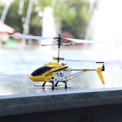 S107H 2.4G Alloy Gyro helicopter 3 Channel Remote Control Helicopter Toy Kids $48.99