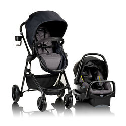 Evenflo Pivot Modular Travel System With Safemax Car Seat Casual Gray 56041990 $328.02