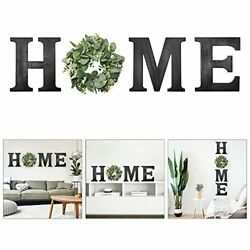 Dremisland Wooden Home Sign Wall Hanging Decor Rustic Wall Letters Home Decor... $38.02