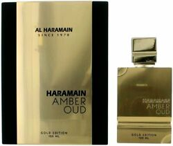 Amber Oud Gold Edition by Al Haramain for Unisex EDP 4.2 oz New in Box $59.77