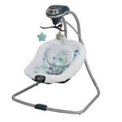 Graco Simple Sway Baby Swing Abbington Infant Bouncer Seat Swaying Relaxation $75.99