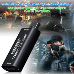 HDMI to USB Video Capture Card 1080P Recorder Phone Game Video Live Streaming US $6.98