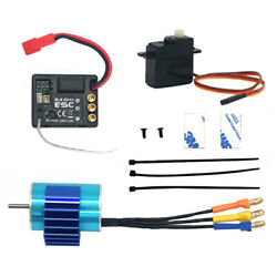 RC Brushless Motor with 17g Servo Accessory for SG1603 SG1604 RC Crawler $39.37