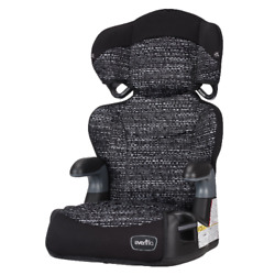 Evenflo Big Kid LX High back Booster Car Seat Abstract Static Black New. $44.99