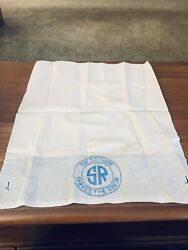SOUTHERN RAILWAY PASSENGER CAR HEAD REST COVER $15.00