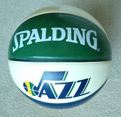 Spalding NBA Utah Jazz Arena COLLECTERS Full Size Game Ball Basketball 29.5quot; $19.99