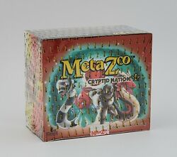 Metazoo Cryptid Nation 1st Edition Booster Box Factory Sealed In Hand $269.99