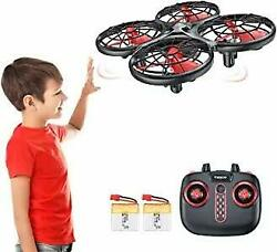 Tomzon mini drone battery two time of flight 12 16 minutes hand hand remote ob $50.42