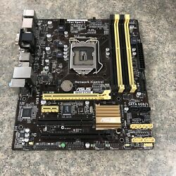 ASUS Motherboard B85M E CSM No CPU Used Works $54.99