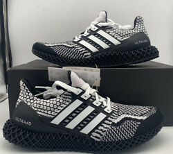 Adidas Ultra 4D 5.0 Running Boost Cookies Oreo Black White G58158 Shoe Mens Size $169.97