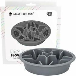 Slow Feed Dog Bowl For Raised Pet Feeders Maze Compatible With Elevated Diners $19.60