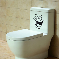 New Sticker Home Decal Big Mouth Toilet Wall Decorations DIY Vinyl Wall Art $4.99