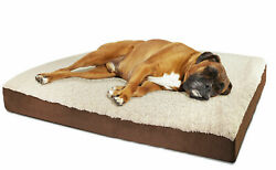 Orthopedic Dog Bed Pet Lounger Deluxe Cushion for Crate Foam Soft Large $15.23