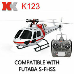 RC Helicopter TRF XK K123 Brushless 3D6G System AS350 Scale RC Helicopter US $215.66
