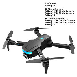 Foldable KAI ONE MAX Drone 4 Axis Gimbal Dual Camera Video Quadcopter $39.94