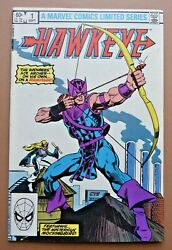 Marvel Comics 1983 Hawkeye Vol 1 #1 of The 4 Issue Limited Series VF VF $5.99