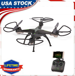 JD 10HW Drone WIFI FPV with 0.3MP Camera 2.4G Remote Control RC Quadcopter H2K9 $53.00