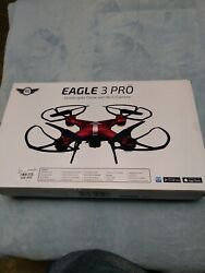 Sky Rider Eagle 3 Pro Drone. Color Red. Used in excellent condition. $34.95