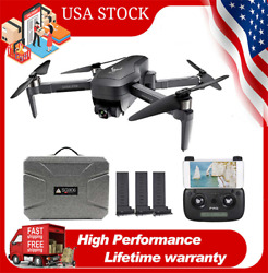 PRO GPS Drone with 4K HD Camera WIFI RC Foldable Quadcopter BrushlessCase Q4W8 $249.49