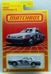Matchbox 2021 Throwback Retro Ford Mustang LX State Trooper Target Exclusive $2.99