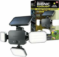 Bell Howell Bionic Floodlight Motion Sensing Outdoor Light with Remote Control