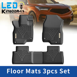 All Weather Floor Mats for 2019 2020 2021 Acura RDX Front Rear TPE Rubber Liners $94.99
