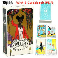 78x Modern Witch Tarot Cards Deck All Female Rider Waite Imagery Party Game Gift $10.99