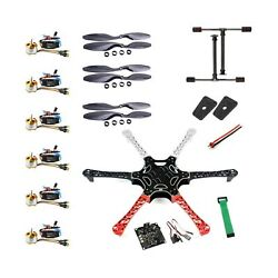 QWinOut F550 Airframe RC Hexacopter Drone Combo Set Flight Controller Beginners $198.68