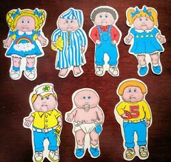 Vintage 80#x27;s Vending CABBAGE PATCH KIDS Stickers RARE Complete Set BABY Soother C $35.00