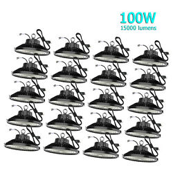 20Pack 100 Watts UFO Led High Bay Lights 100W Led Commercial Lighting Fixtures