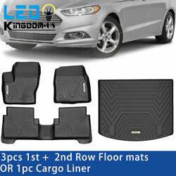 Floor Cargo Mats Front Rear Liner for 2013 2021 Ford Escape Rubber All Weather $87.99