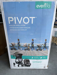 Brand New Evenflo Pivot Modular Travel System With SafeMax Carseat $225.00