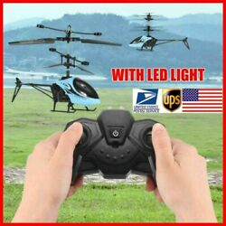 2 CH Mini RC Drone Helicopter Kids Outdoor Toys Remote Control Aircraft Heli $9.89