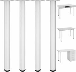 28quot; Table Legs Adjustable Kitchen Coffee Table Heavy Duty Metal Furniture Legs $29.99
