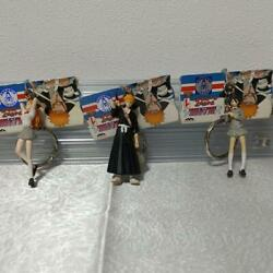 Japanese Anime BLEACH Realistic figure key chain set of 3 antique at that time $23.20