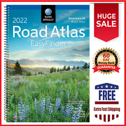 Rand Mcnally USA Road Atlas 2022 BEST Large Scale Travel Maps United States NEW $13.49