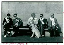 BLIND PROTESTERS SHOWED HOW MAKE THEIR POINT PEACEF Vintage photograph 2059506 $25.90