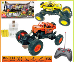 1:18 Off road racing power rc car remote control 4WD high speed rc Kids boy race $18.99
