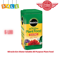 Miracle Grow 5Lb Water Soluble All Purpose Plant Food All Season Plant Food Blue $15.95