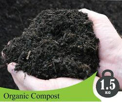 Natural Organic Compost 1.5Kg Fertilizer Agriculture Home Gardening For All Plan $52.99